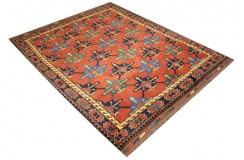 Oryginalny 100% wełniany dywan Afgan Kargahi Modern 160x200cm ręcznie gęsto tkany