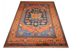 Oryginalny 100% wełniany dywan Afgan Kargahi Modern 200x300cm ręcznie gęsto tkany