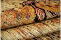 Ręczny tkany dywan Ziegler Gabbeh Pakstan nowoczesny piękne kolory 250x300cm
