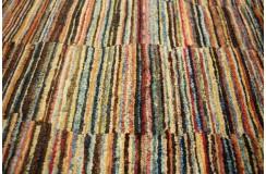 Ręczny tkany dywan Ziegler Gabbeh Pakstan nowoczesny piękne kolory 190x260cm