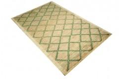 Ręczny tkany dywan Ziegler Gabbeh Pakstan nowoczesny piękne kolory 120x180cm