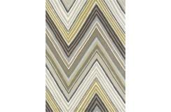 Kolorowy nowoczesny dywan SCION GROOVE 25704 140x200cm 100% wełniany gruby szaro-brązowy wart 2100zł