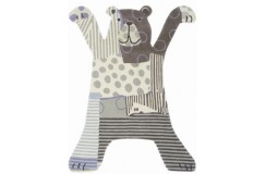 Dywan Brink & Campman Xian Kids Bear 41001 85x115cm dla dzieci wycinany kształt akryl