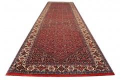 Luksusowy chodnik dywan Bidjar (Bidżar) Fein z Iranu ok 80x300cm 100% wełna oryginalny ręcznie tkany perski herati