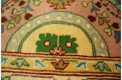 Pastelowy tradycyjny ręcznie tkany dywan Ziegler z Pakistanu 100% wełna 80x310cm chodnik medaliony