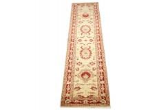 Klasyczny ręcznie tkany dywan Ziegler Farahan z Pakistanu 100% wełna 80x320cm chodnik