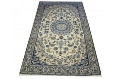 Nain gęsto ręcznie tkany dywan z Iranu wełna 150x260cm beżowy majestatyczny przecena