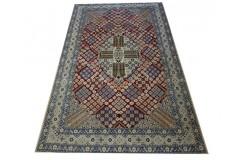 Nain 9lah gęsto ręcznie tkany dywan z Iranu wełna i jedwab 160x260cm kolorowy majestatyczny przecena