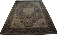 Absolutny unikat dywan Yazd (Jazd) Rahwar ok 307x420cm 100% wełna cenny jedyny perski lśniący kwiatowy