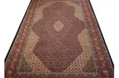 Tradycyjny piękny dywan Saruk z Iranu 250x400cm 100% wełna gęsty ręcznie tkany perski luksusowy