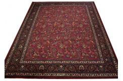 Oryginalny ręcznie tkany perski dywan 300x400cm 100% wełna - Meszhed Iran sygnowany