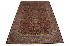 Bogaty klasyczny kwiatowy perski dywan Kerman (Kirman) Iran ok 200x300cm 100% wełna