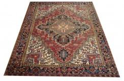 Bogaty dywan Kaszkaj z Iranu 225x285cm 100% wełna ręcznie tkany