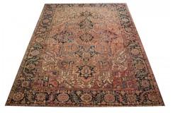 Piękny ręcznie tkany dywan perski Heriz 100% wełna ok 250x350cm Iran