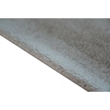 Gładki beżowy lśniący designerski dywan z wiskozy Lalee Premium 500 Beige 160x230cm
