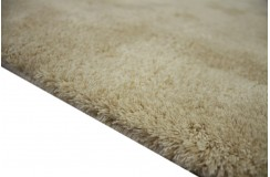 Gładki kremowy dywan Luxor Living Monza kremowy 170x240cm 100% akryl