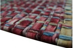 100% wełniany jedyny dywan Rocks Stone wartościowy wełna filcowana kolorowy 200x300cm