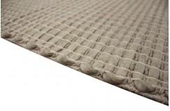 100% wełna filcowana nowoczesny ręcznie tkany dywan Simplicito Flat 160x230cm warkocze płaskie szary