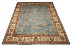 Wzorzysty dywan Ziegler Aryana 100% wełna kamienowana ręcznie tkany 250x300cm