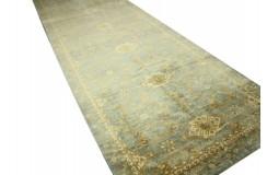 Gustowny dywan Ziegler Ariana Klassik 100% wełna kamienowana ręcznie tkany ogromny chodnik 147x577cm