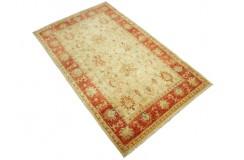 Korowy dywan Ziegler Farahan 100% wełna kamienowana ręcznie tkany 90x160cm