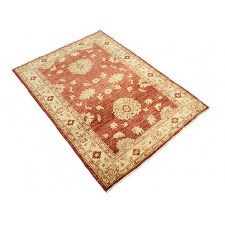 Czerwony dywan Ziegler Farahan 100% wełna kamienowana ręcznie tkany 103x145cm