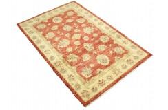 Czerwony dywan Ziegler Farahan 100% wełna kamienowana ręcznie tkany 100x151cm