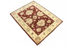 Czerwony dywan Ziegler Farahan 100% wełna kamienowana ręcznie tkany 89x115cm