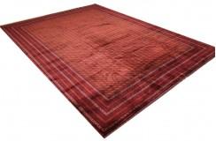 Dywan Afganistan Bashiri Turkmeński geometryczny tekke oryginalny 100% wełniany najwyższa jakość 250x350cm