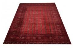 Dywan Afganistan Buchara Turkmeński geometryczny tekke oryginalny 100% wełniany najwyższa jakość 260x340cm
