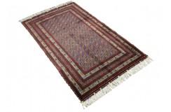 Dywan Afganistan Khuwaje Turkmeński geometryczny Tekke oryginalny 100% wełniany najwyższa jakość 92x150cm