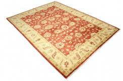 Czerwony klasyk dywan Ziegler Farahan 100% wełna kamienowana ręcznie tkany ok 180x230cm
