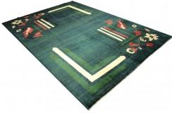 Dywan Ziegler Ariana kolorowy 100% wełna kamienowana ręcznie tkany 200x300cm