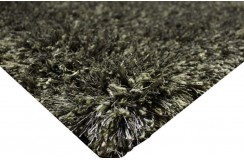 Gruby 6cm masywny dywn shaggy Brinker Carpts Spider 013 szary 170x240cm