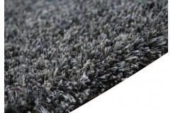 Gruby 6cm masywny dywn shaggy Brinker Carpts Spider s013 szary 200x300cm