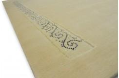 Wart 13999 zł gładki dywan 170x240cm SWAROVSKI ELEMENTS LUXOR STYLE Royal z MONGOLSKIEJ wełny owczej lux