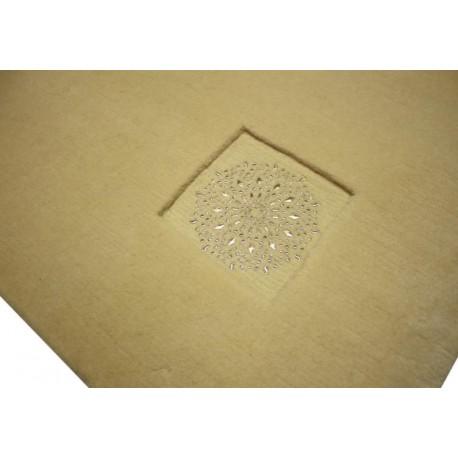 Wart 8 999 zł gładki dywan 170x240cmLUXOR STYLE Iridium mongolska wełna owcza ekskluzywny