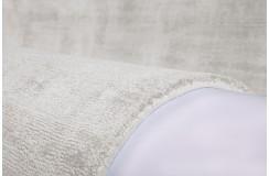 Biały lśniący designerski dywan w pasy wiskoza Obsession my Maori 140x200cm