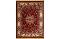 Klasyczny wzór dywan Isfahan 5255S czerwony Marbex 850 000 wiązań/m2 miękki 160x230cm