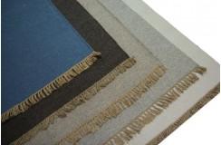 Ręcznie tkane 100% wełniane kilimy - dywany dwustronne z Indii 140x200cm