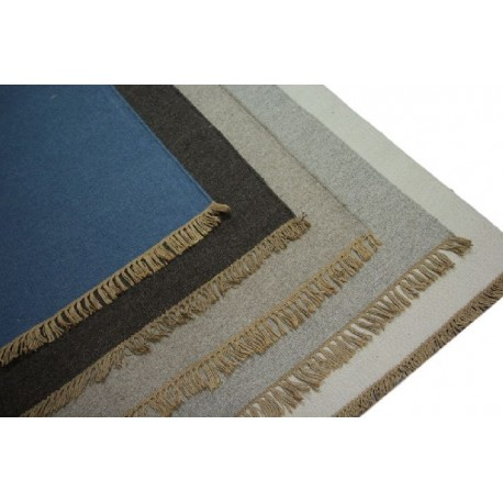 Ręcznie Tkane 100 Wełniane Kilimy Dywany Dwustronne Z Indii 140x200cm