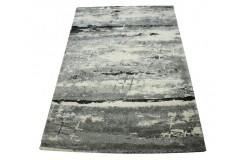 Designerski szary dywan Astra Samoa 100% polipropylen 160x230cm