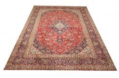 Czerwony oryginalny dywan Kashan (Keszan) z Iranu wełna 250x350cm perski