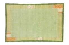 Ręcznie tkany wełniany dywan Nepal (Indie) 200x300cm zielony