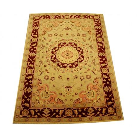 Kolorowy luksusowy dywan Ziegler oryginał piękny ręcznie tkany dywan 120x180cm