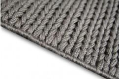 Nowoczesny dywan Luxor Living w warkocze 3d połysk i jakość 140x200cm