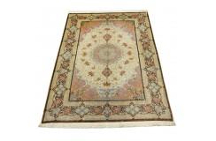 KOM - nowy piękny perski dywan (GHOM) 100% jedwab ręcznie tkany Iran oryginalny 155x240cm