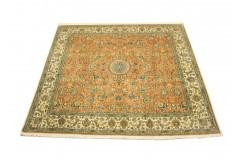 Eskluzywny dywan Kaszmir (Kashmir) indyjski jedwabny dywan 211x216 (2x2m)