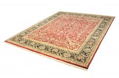 Czerwony klasyczny dywan Tabriz z Indii 240x300cm 100% wełna (Indo-Tabriz) perski wzór