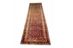 Kwiatowy chodnik perski ręcznie tkany Hamadan z Iranu 115x440cm Iran